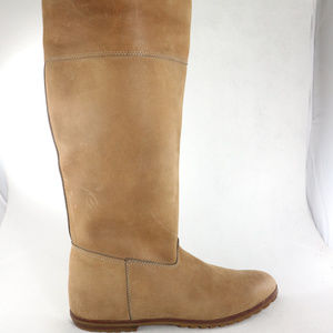 Vintage Like New FRYE Tan Leather Hide Boots